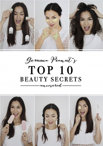 Gemma Peanut's Top 10 Beauty Secrets