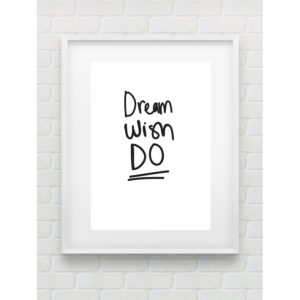 DREAM WISH DO PRINT BY GEMMA PRANITA