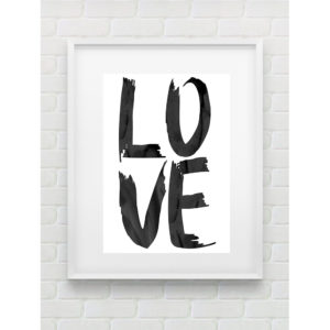 LOVE PRINT BY GEMMA PRANITA