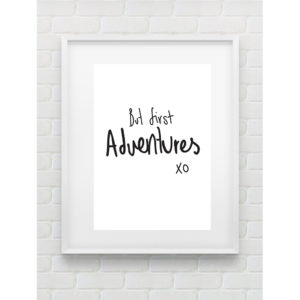ADVENTURES PRINT BY GEMMA PRANITA
